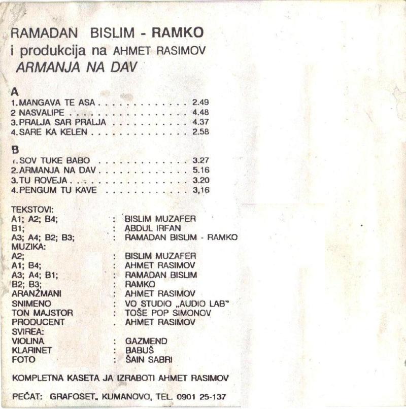 Ramadan Bislim Ramko - Omoti Zadnji10