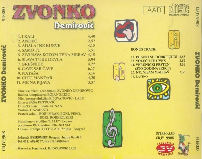 Zvonko Demirovic - Omoti Zvonko13