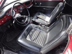 Karmann cabriolet 1968 brésilien 2110