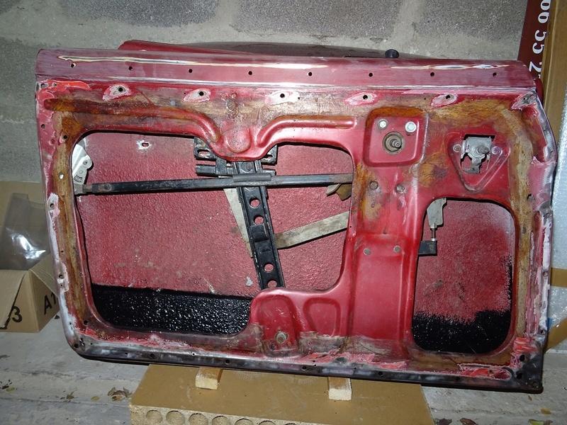 Année Porte Karmann ghia cabriolet brésil de 1968 4010