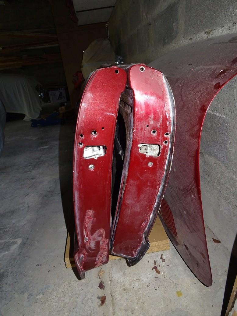 Année Porte Karmann ghia cabriolet brésil de 1968 4210