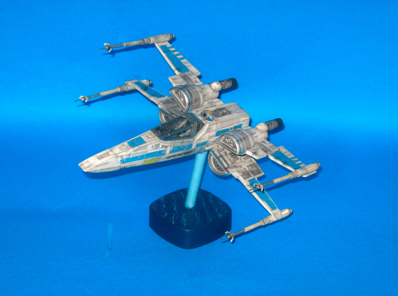 X-WING T-70 (THE FORCE AWAKENS) Img_8412