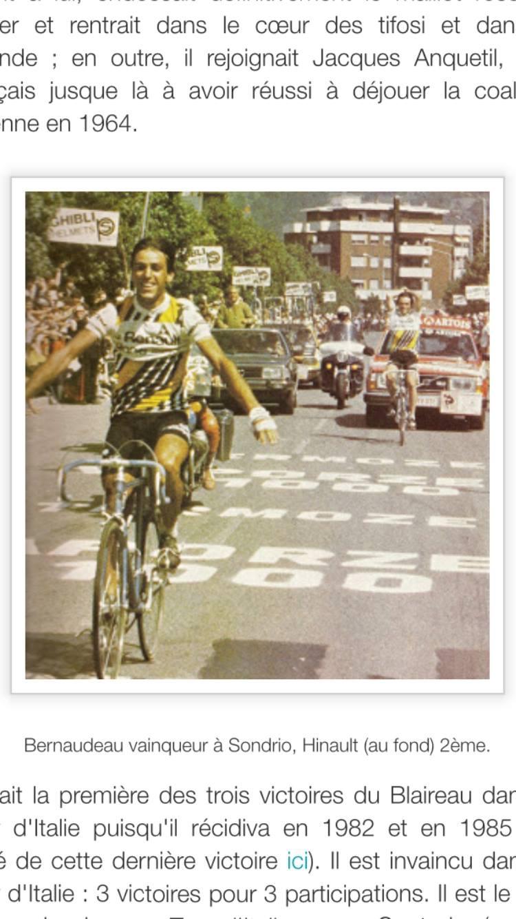 CYCLES GITANE  PRO EQUIPE RENAULT GITANE  TOUR D ITALIE 1980- STELVIO Img_2639