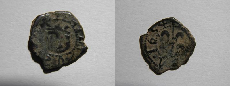 Dinero de Valencia, Felipe IV (1654) P4202010