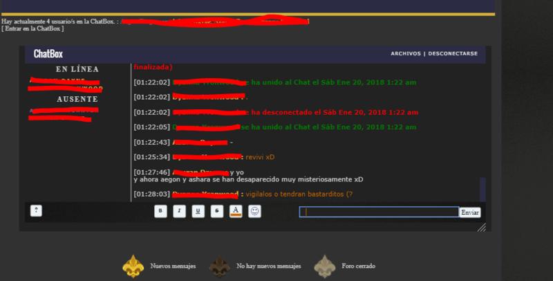 La chatbox anda muy pesada y expulsando a los usuarios Sdjnsa10
