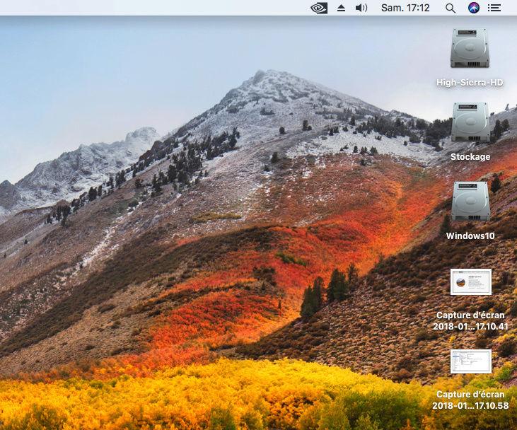 Impossible de démarrer sur MacOS Captur10