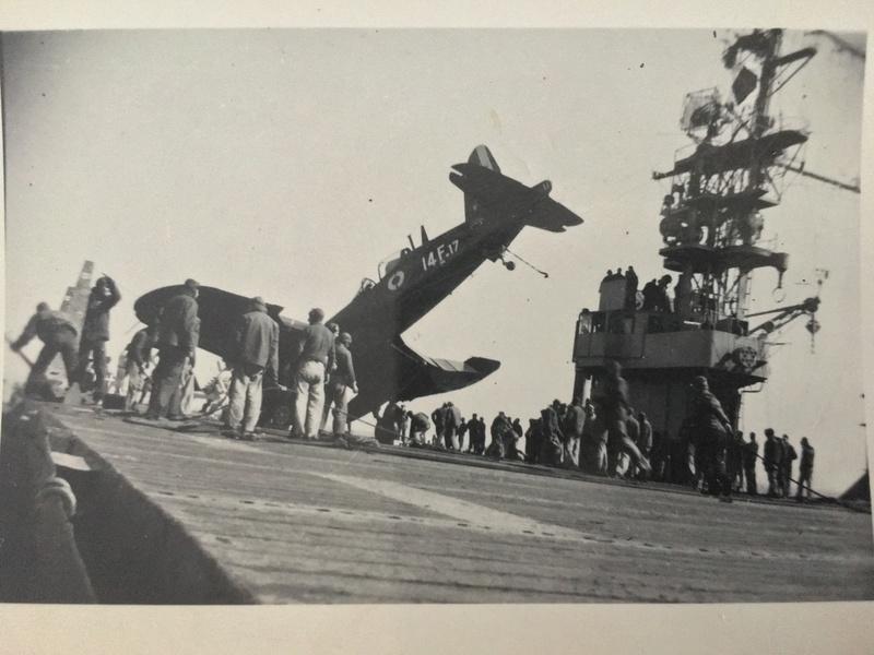 [Les anciens avions de l'aéro] F4 U7 Corsair - Page 27 Img_3313