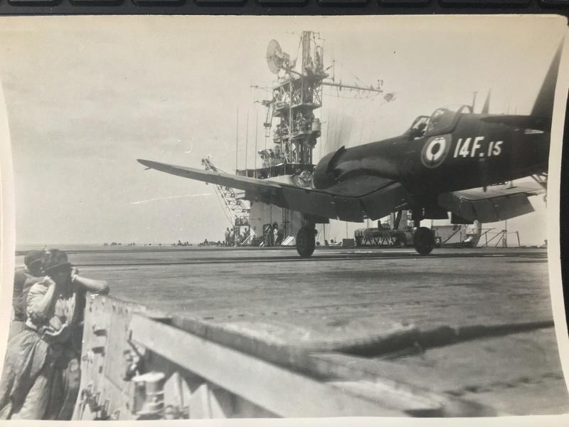 [Les anciens avions de l'aéro] F4 U7 Corsair - Page 27 Img_3322