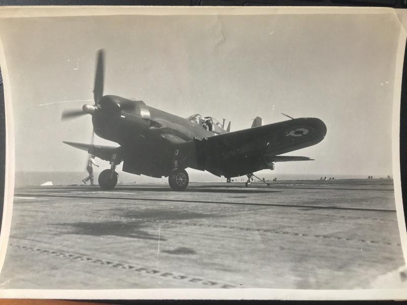 [Les anciens avions de l'aéro] F4 U7 Corsair - Page 27 Img_3325