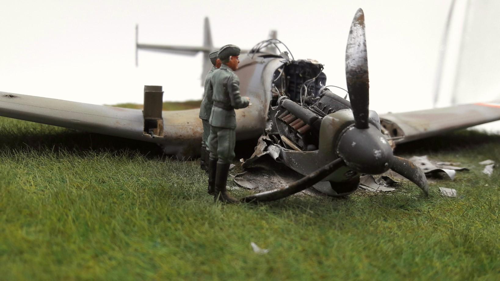 [Concours Aéronavale] Loire Nieuport 401/411 -  Special hobby 1/48 - crash à Villereau -le sacrifice des marins aviateurs du 19 mai 1940 - Mission Berlaimont  Image478