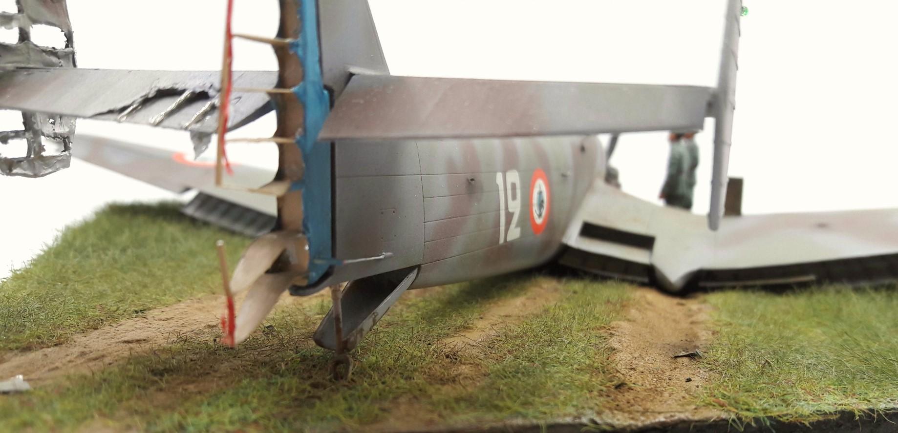 [Concours Aéronavale] Loire Nieuport 401/411 -  Special hobby 1/48 - crash à Villereau -le sacrifice des marins aviateurs du 19 mai 1940 - Mission Berlaimont  Image481