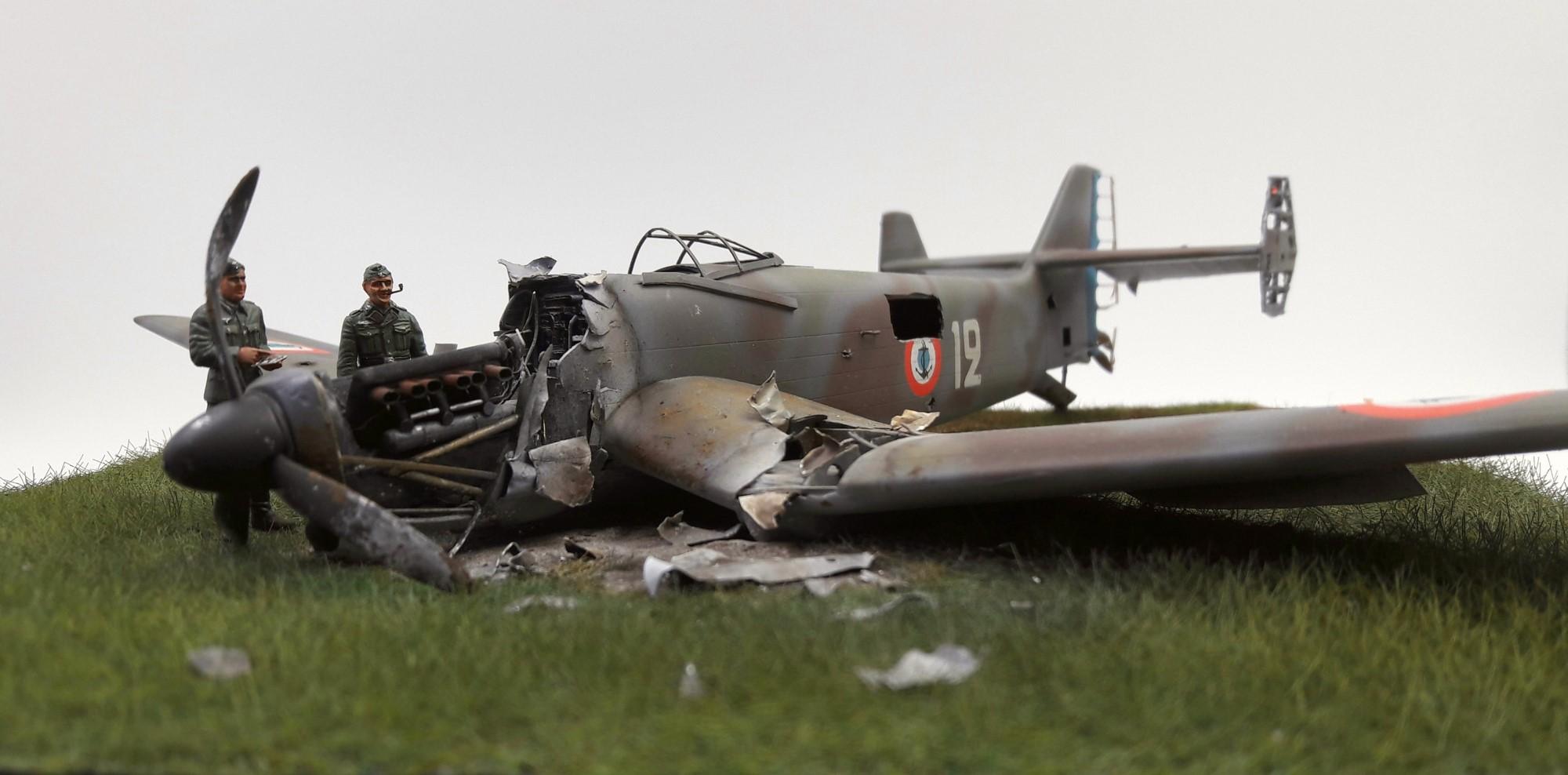 [Concours Aéronavale] Loire Nieuport 401/411 -  Special hobby 1/48 - crash à Villereau -le sacrifice des marins aviateurs du 19 mai 1940 - Mission Berlaimont  Image482