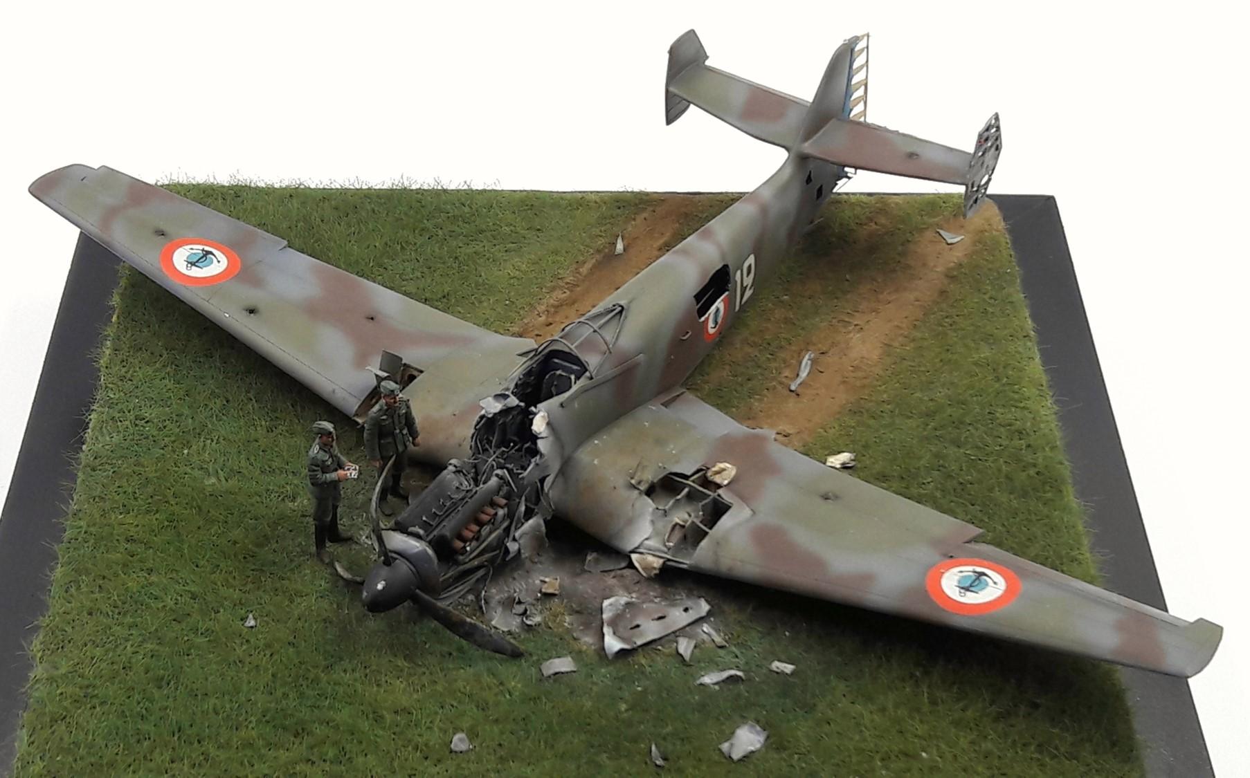 [Concours Aéronavale] Loire Nieuport 401/411 -  Special hobby 1/48 - crash à Villereau -le sacrifice des marins aviateurs du 19 mai 1940 - Mission Berlaimont  Image483