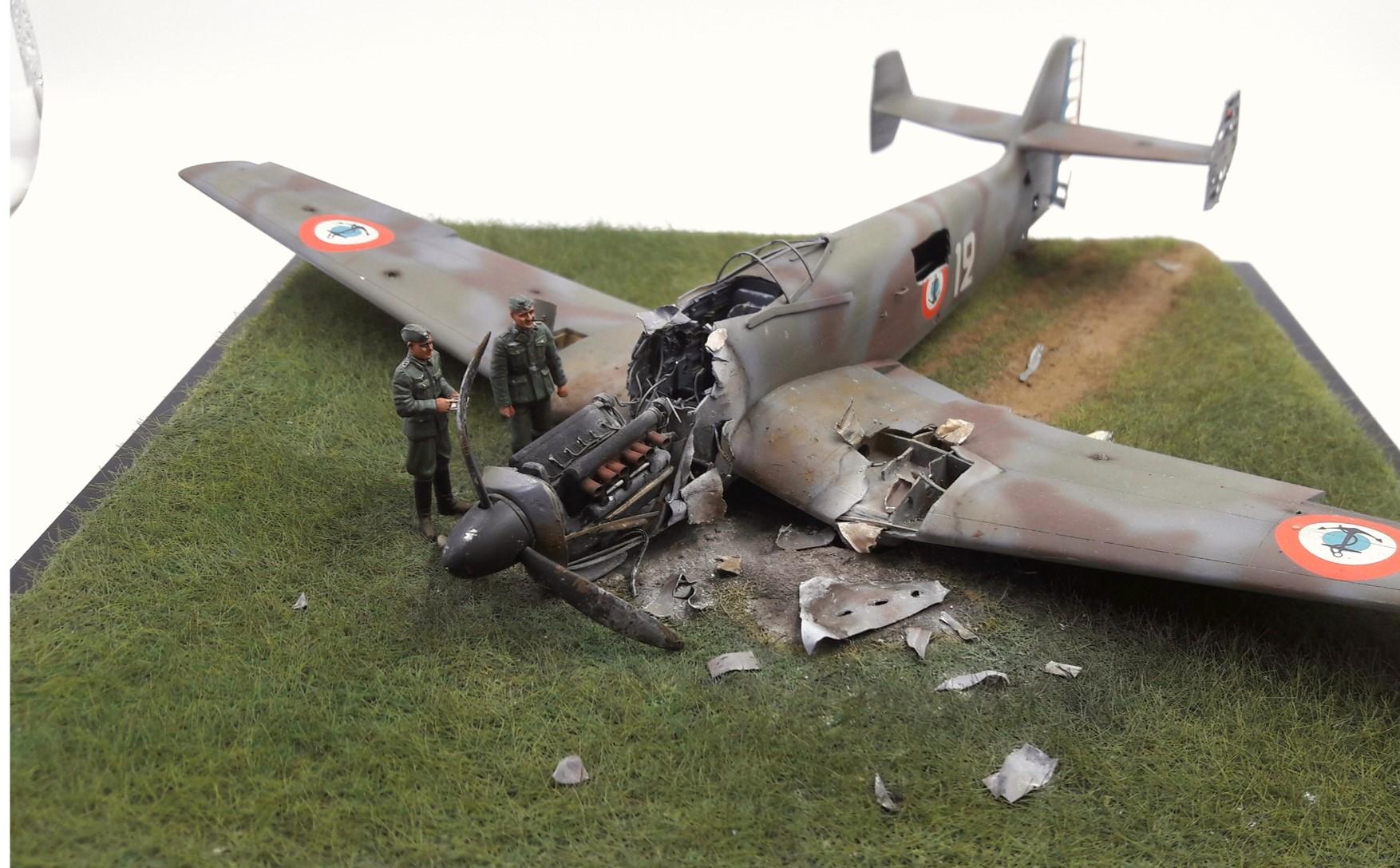[Concours Aéronavale] Loire Nieuport 401/411 -  Special hobby 1/48 - crash à Villereau -le sacrifice des marins aviateurs du 19 mai 1940 - Mission Berlaimont  Image484