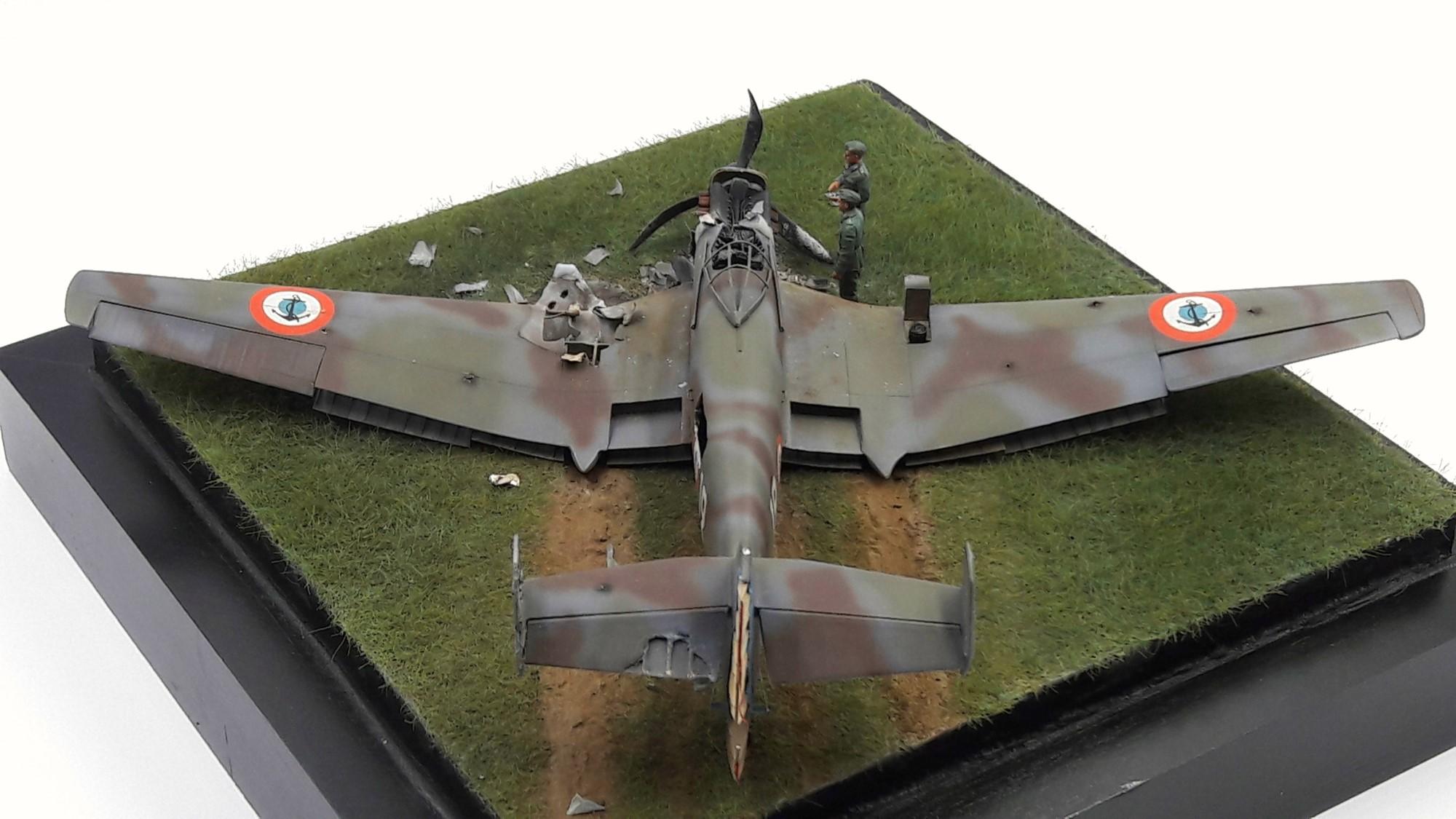 [Concours Aéronavale] Loire Nieuport 401/411 -  Special hobby 1/48 - crash à Villereau -le sacrifice des marins aviateurs du 19 mai 1940 - Mission Berlaimont  Image487