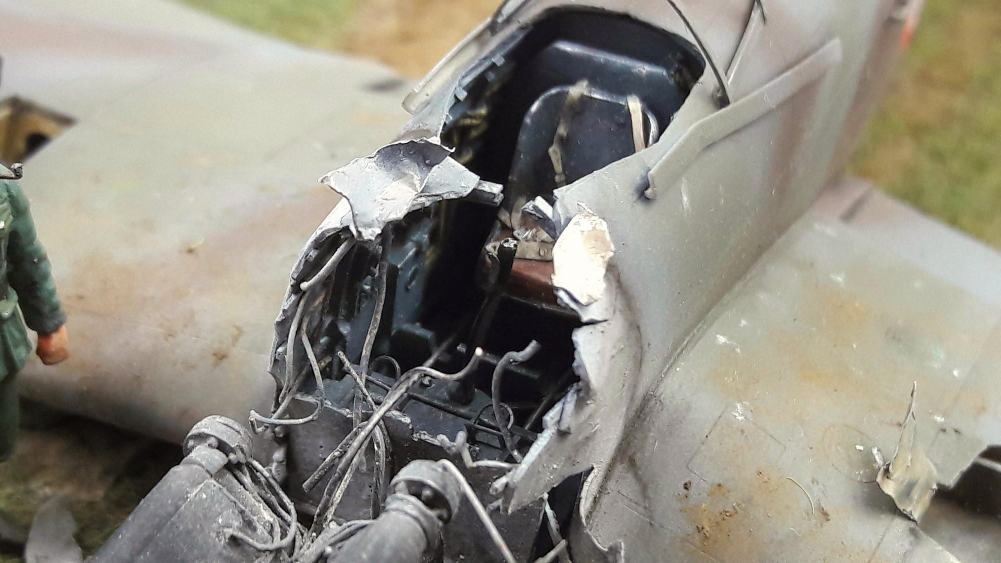 [Concours Aéronavale] Loire Nieuport 401/411 -  Special hobby 1/48 - crash à Villereau -le sacrifice des marins aviateurs du 19 mai 1940 - Mission Berlaimont  Image489