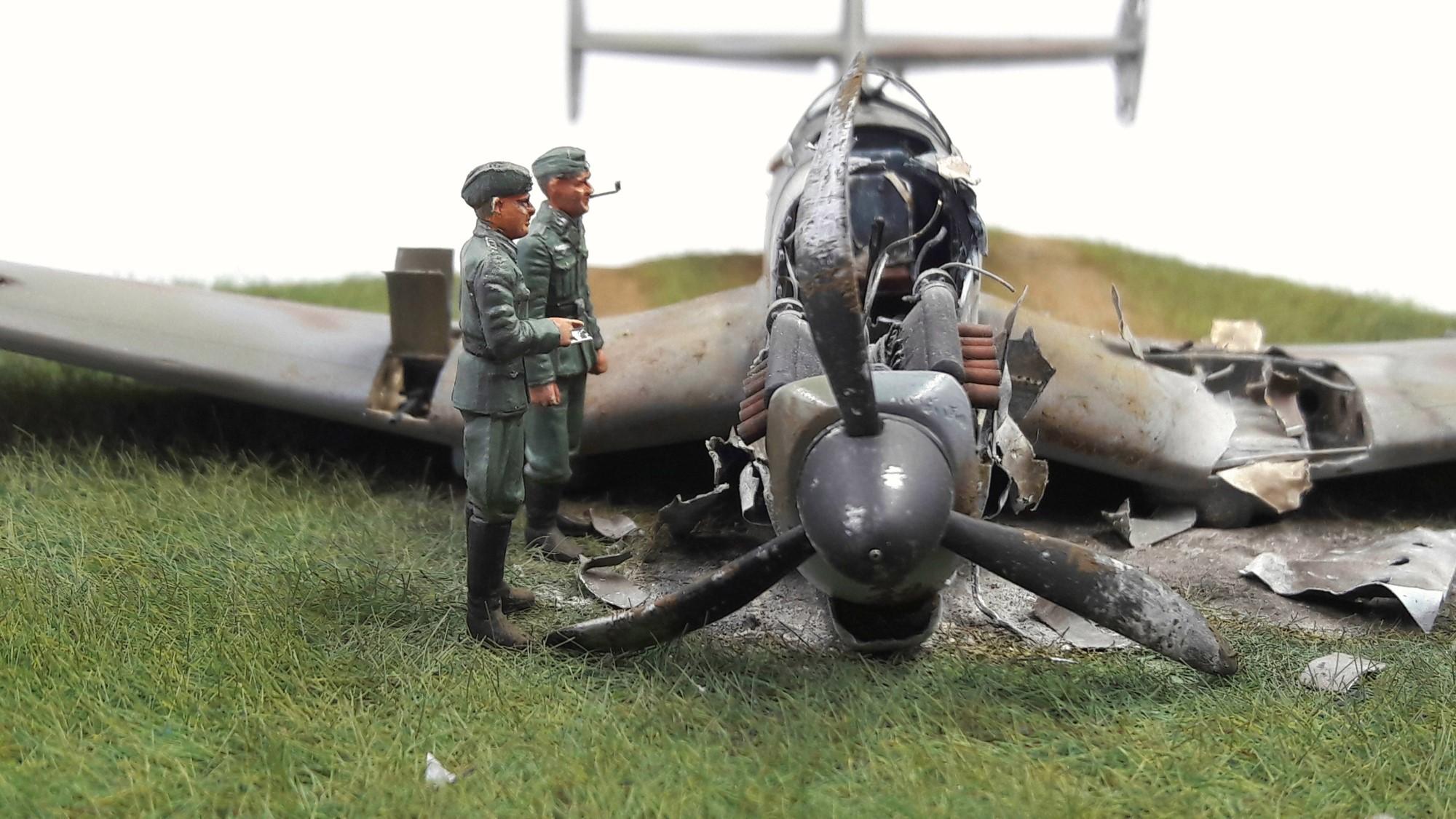 [Concours Aéronavale] Loire Nieuport 401/411 -  Special hobby 1/48 - crash à Villereau -le sacrifice des marins aviateurs du 19 mai 1940 - Mission Berlaimont  Image492