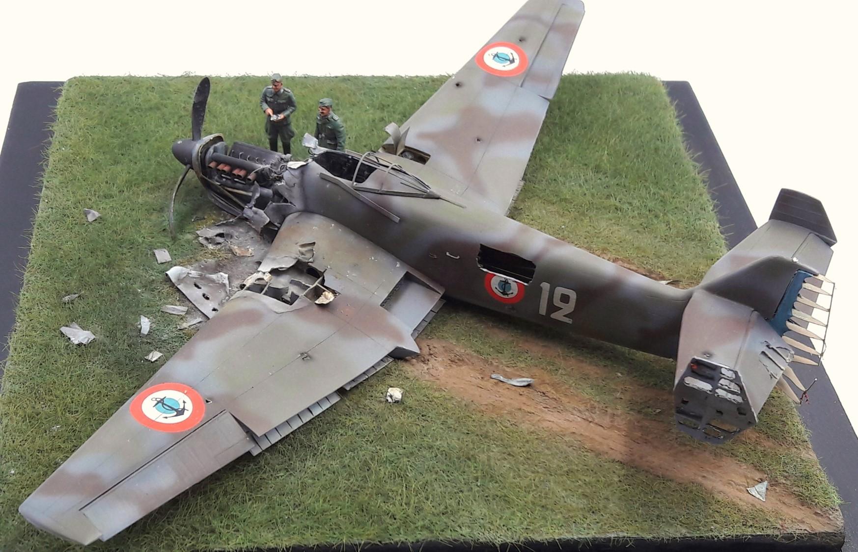 [Concours Aéronavale] Loire Nieuport 401/411 -  Special hobby 1/48 - crash à Villereau -le sacrifice des marins aviateurs du 19 mai 1940 - Mission Berlaimont  Image495