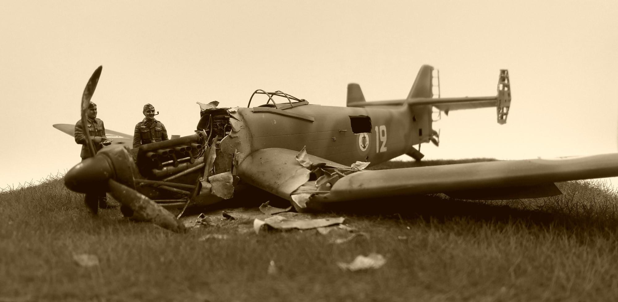 [Concours Aéronavale] Loire Nieuport 401/411 -  Special hobby 1/48 - crash à Villereau -le sacrifice des marins aviateurs du 19 mai 1940 - Mission Berlaimont  Image499