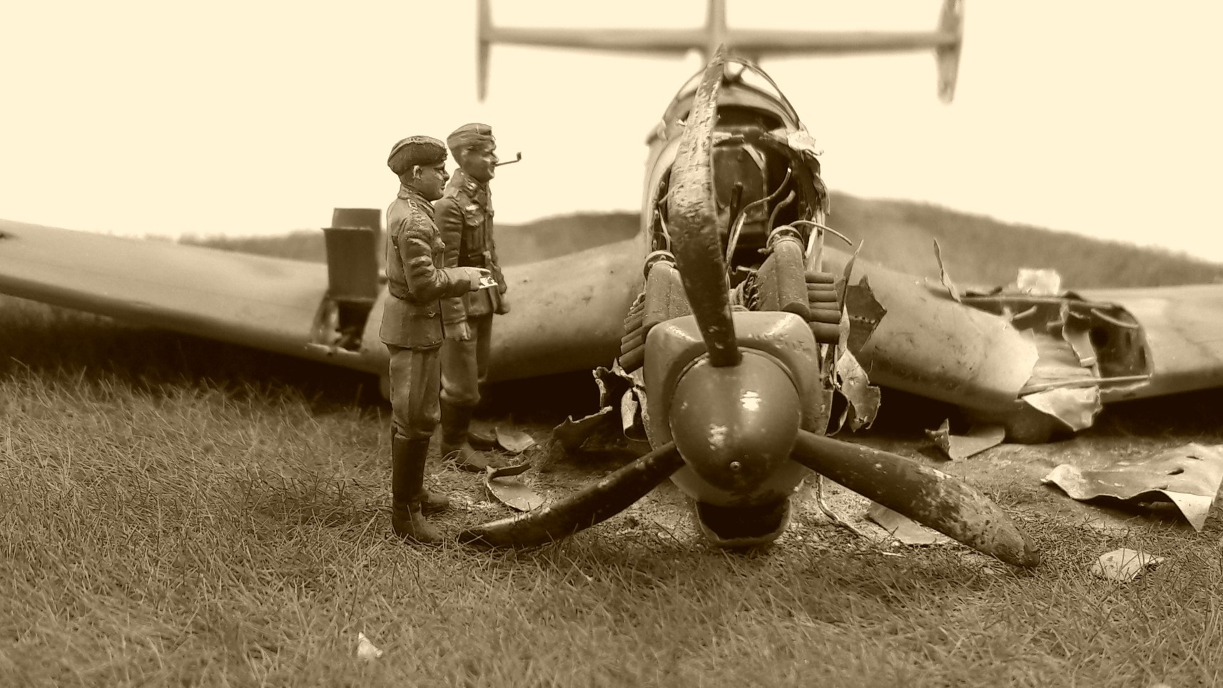 [Concours Aéronavale] Loire Nieuport 401/411 -  Special hobby 1/48 - crash à Villereau -le sacrifice des marins aviateurs du 19 mai 1940 - Mission Berlaimont  Image500