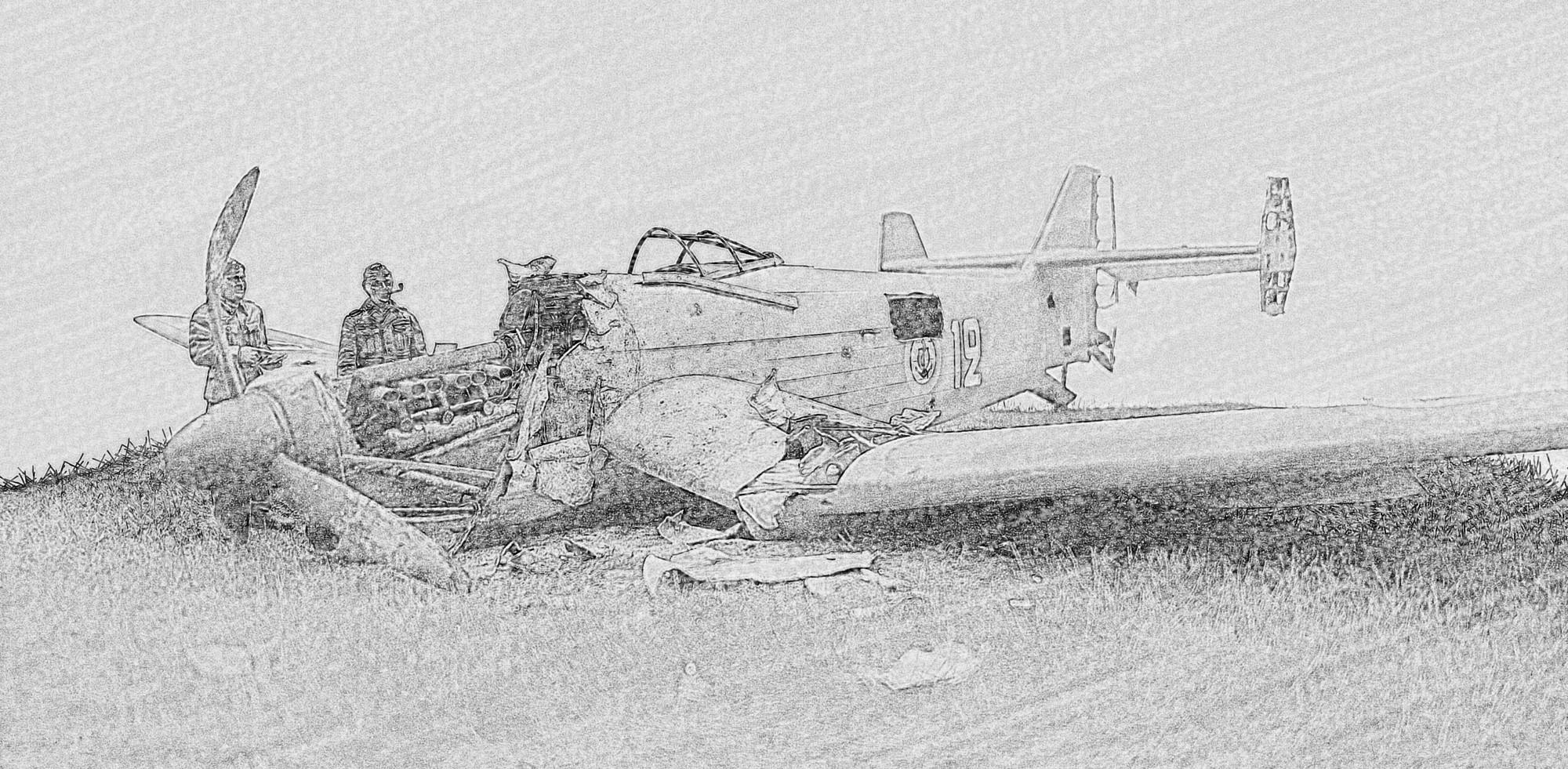 [Concours Aéronavale] Loire Nieuport 401/411 -  Special hobby 1/48 - crash à Villereau -le sacrifice des marins aviateurs du 19 mai 1940 - Mission Berlaimont  Image501