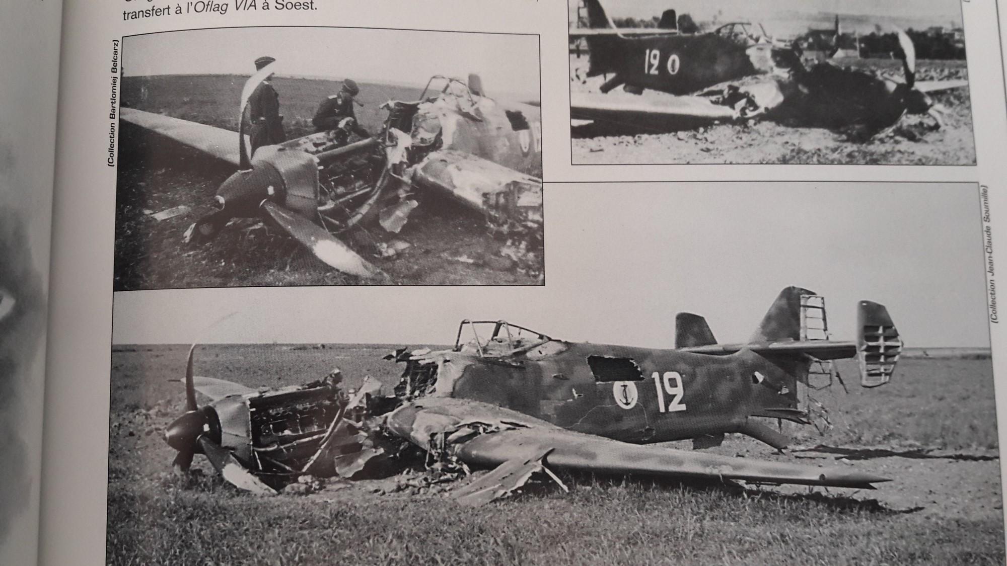 [Concours Aéronavale] Loire Nieuport 401/411 -  Special hobby 1/48 - crash à Villereau -le sacrifice des marins aviateurs du 19 mai 1940 - Mission Berlaimont  Image629