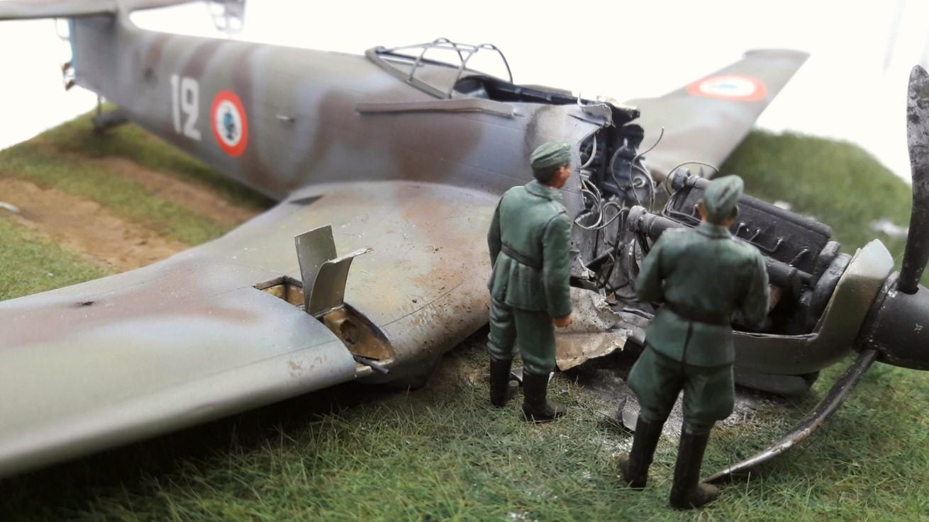 [Concours Aéronavale] Loire Nieuport 401/411 -  Special hobby 1/48 - crash à Villereau -le sacrifice des marins aviateurs du 19 mai 1940 - Mission Berlaimont  Image630