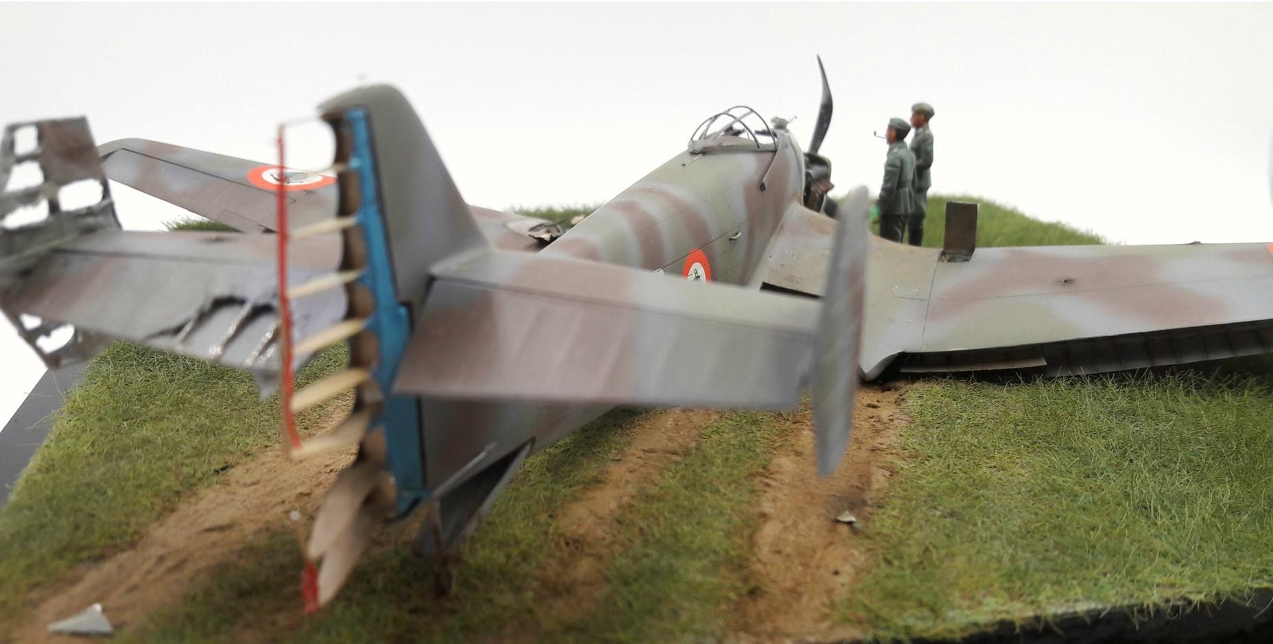 [Concours Aéronavale] Loire Nieuport 401/411 -  Special hobby 1/48 - crash à Villereau -le sacrifice des marins aviateurs du 19 mai 1940 - Mission Berlaimont  Image730