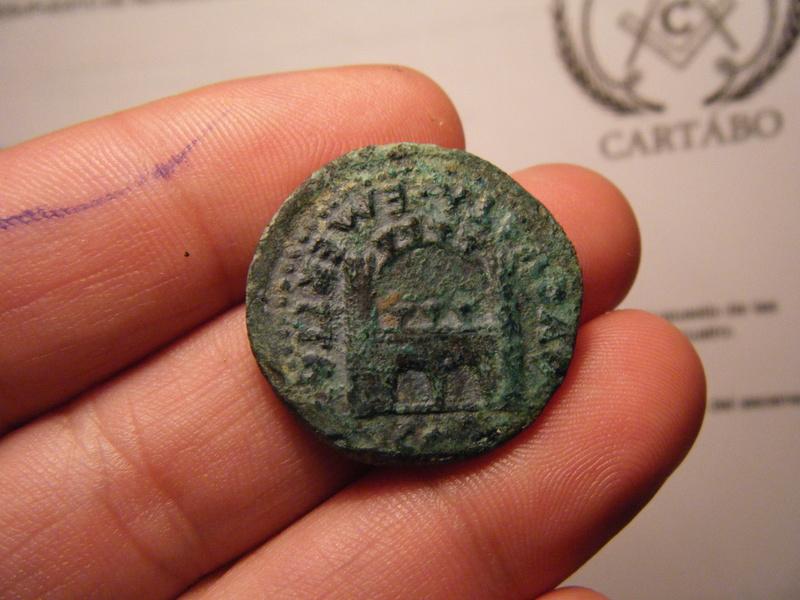 Dupondio de Emerita Augusta (por Tiberio). Cómo NO cargarse una moneda metiéndola al horno - Página 2 00116