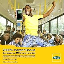 Get  Instant 2000% Bonus From MTN, Validity Is 3 Months Downlo10