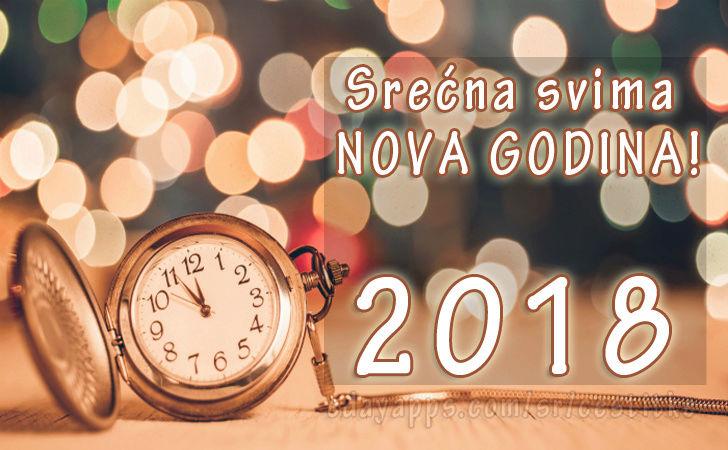 Srecna Nova 2018 godina Slika11