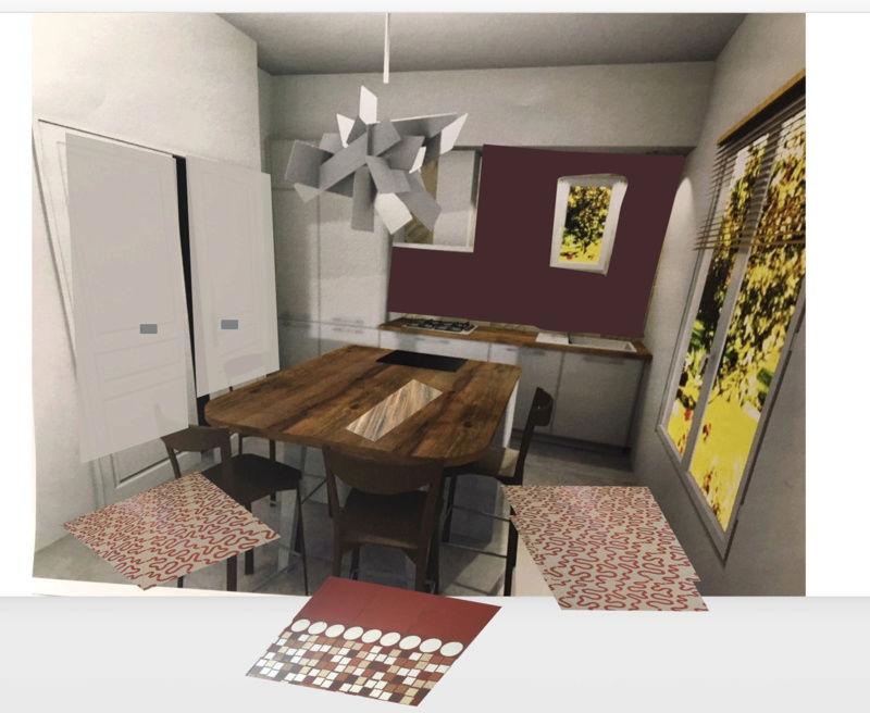 rénovation maison année 30: assortir les couleurs des pièces au carrelage d'époque Essai_10