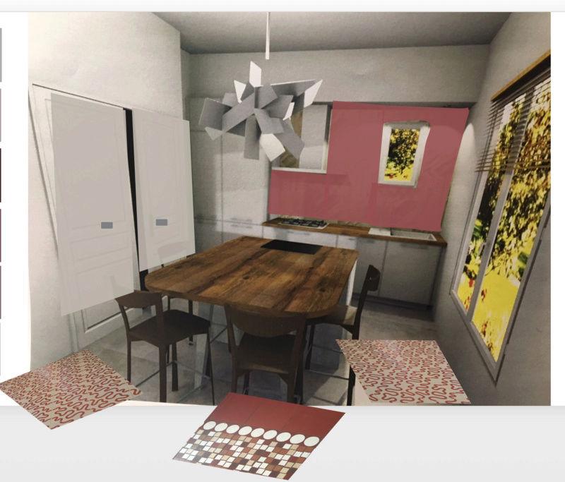 rénovation maison année 30: assortir les couleurs des pièces au carrelage d'époque Essai_12