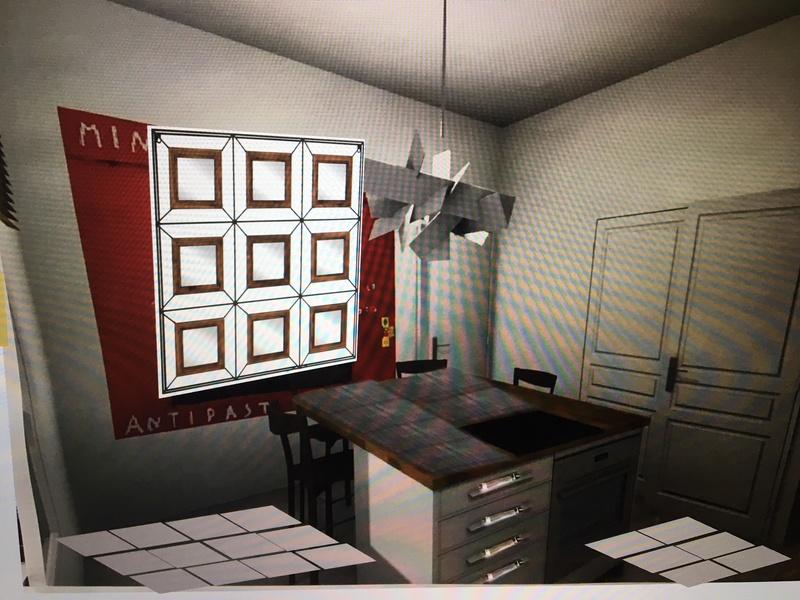rénovation maison année 30: assortir les couleurs des pièces au carrelage d'époque - Page 2 Essai_14