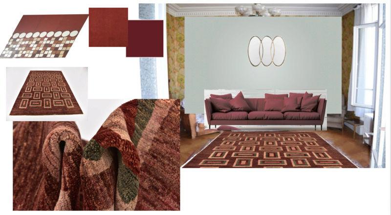 rénovation maison année 30: assortir les couleurs des pièces au carrelage d'époque - Page 2 Salon10