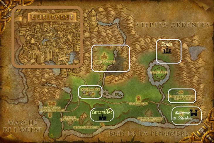 Carte de la région. Elwynn10