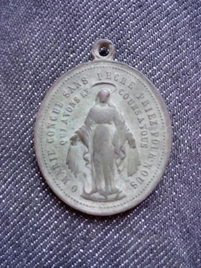 Medalla Milagrosa (2) -s. XIX-XX San_jo11