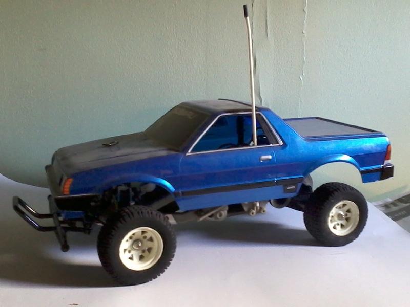 Vente Tamiya Subaru Brat original. Photo015