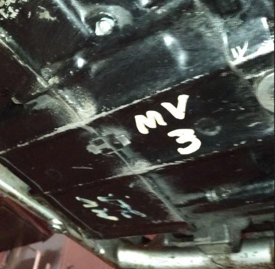 couvercle de chaine de distribution Mv10