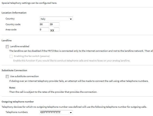 TimeOut e/o reason code 403 per Registrazione numero telefonico Fritz_10