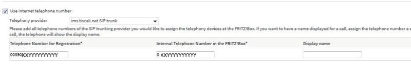 TimeOut e/o reason code 403 per Registrazione numero telefonico Fritz_12