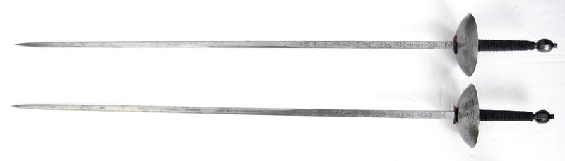 Épées de duel historiques françaises et espagnoles. Img_8710