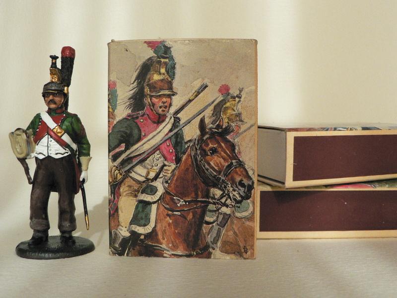 Petite collection de boîtes d'allumettes militaires P1160115