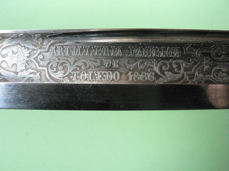 Sabre français-espagnol P1190213