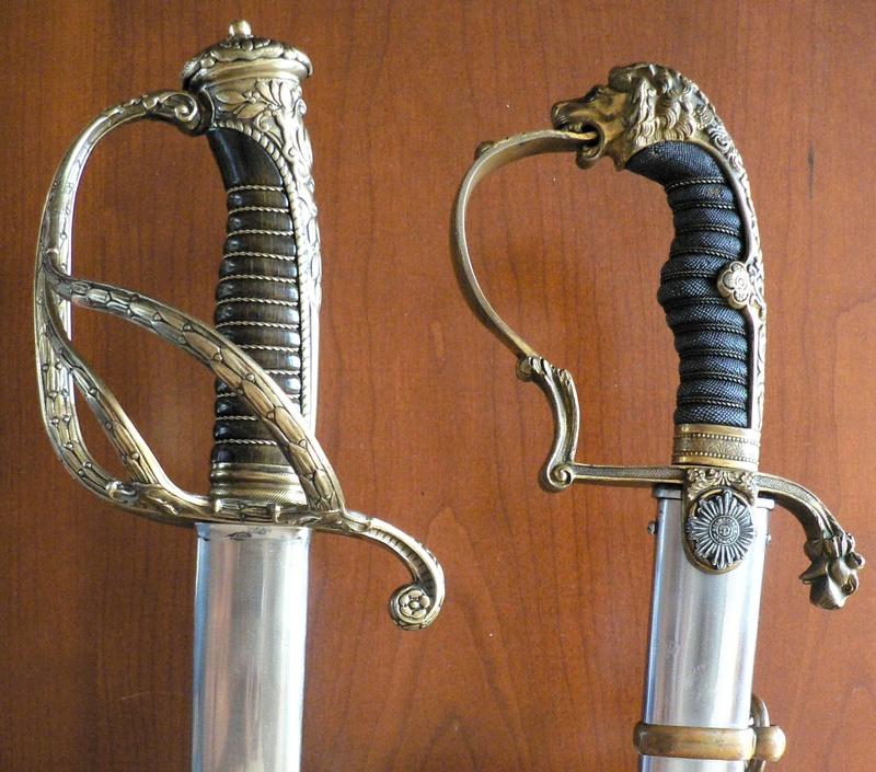 Sabres de général 19ème siécle P1190711