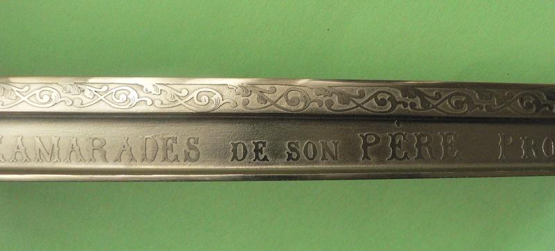 Sabre cadeau pour officier de Spahis P1210230