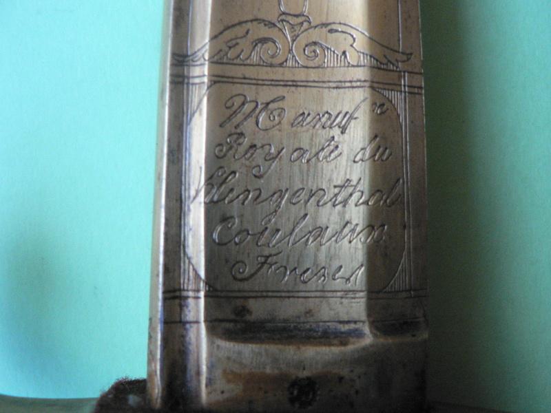 Sabre Gendarmerie Royale 1817 P1210233