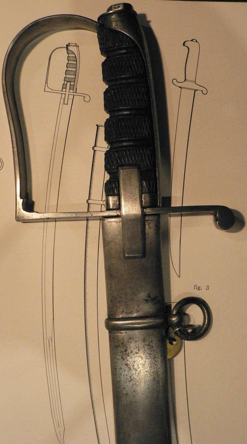 sabre d'officier du Train d'Artillerie italien mle 1864 P1230019