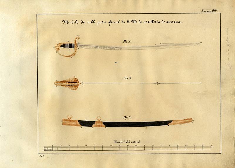 Animal mythique sur la calotte d'un sabre. Pagina11