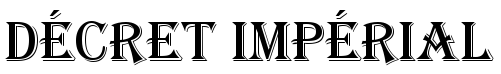 Déclaration de l'Empereur du Gwangua Dycret10
